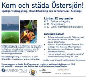 Action against marine litter in Skillinge!   LUWater